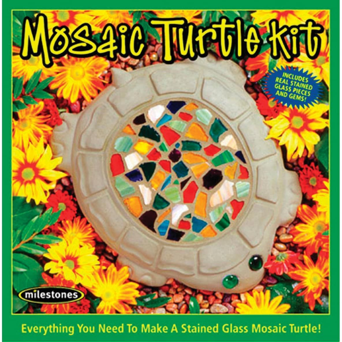 Midwest Products Garden Mosaic Stepping Stone Kit 20 20 Toys ...