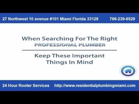 Plomero En Miami Fl Plomeria 24 Horas De Emergencia En Miami Fl