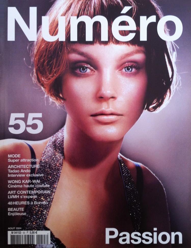 NUMERO 55 AUGUST 2004 Cover (Numéro)