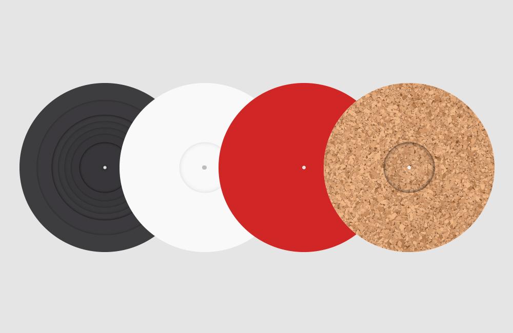 Zubehöer für Plattenspieler, Schallplatten, Vinyl