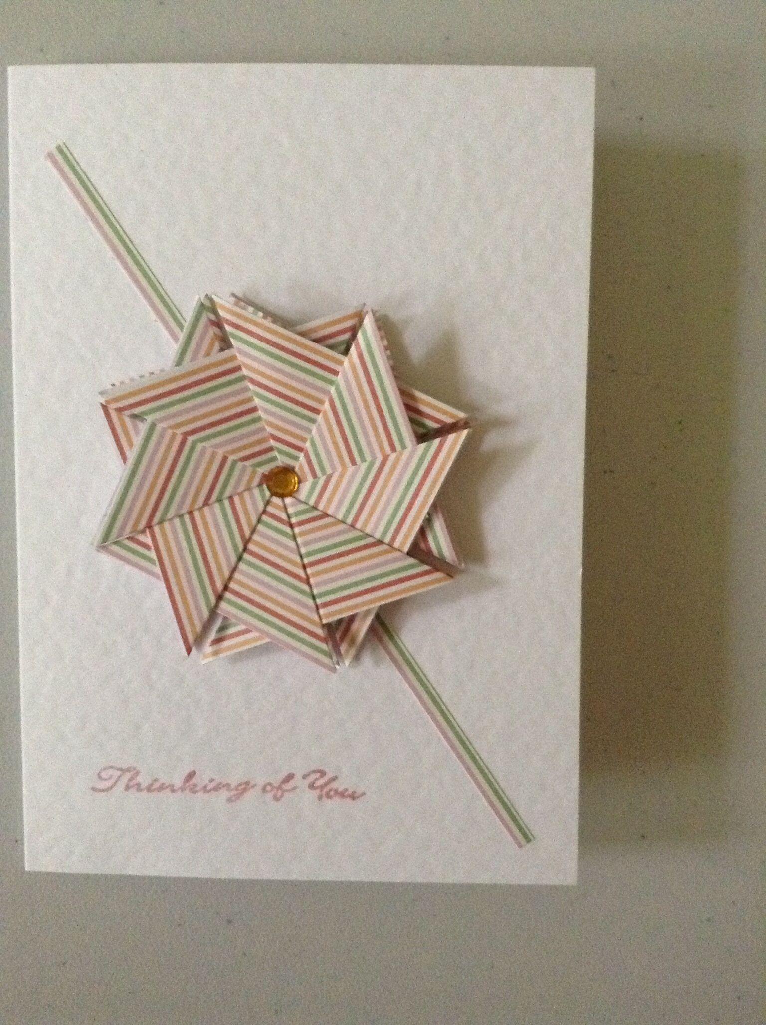 Tea Bag Folding Card Tea Bag Folding Inspiration Pinterest