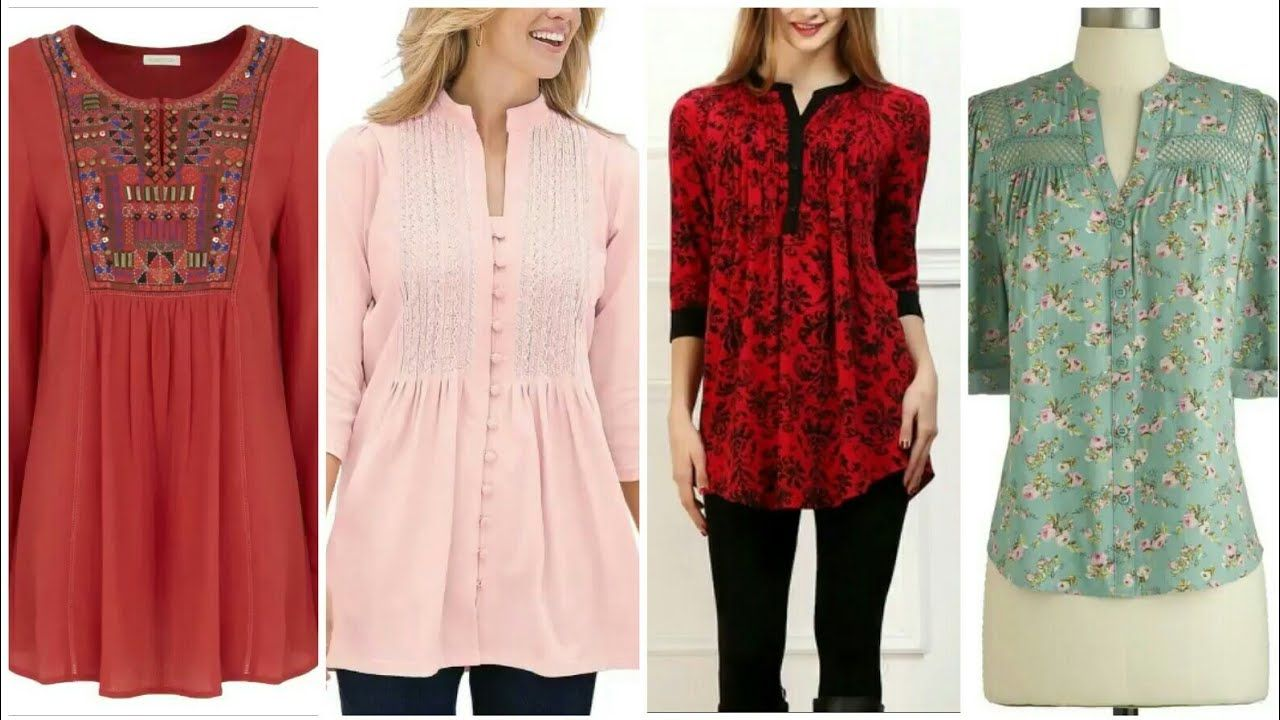 Ladies stylish kurta recommend dress for autumn in 2019
