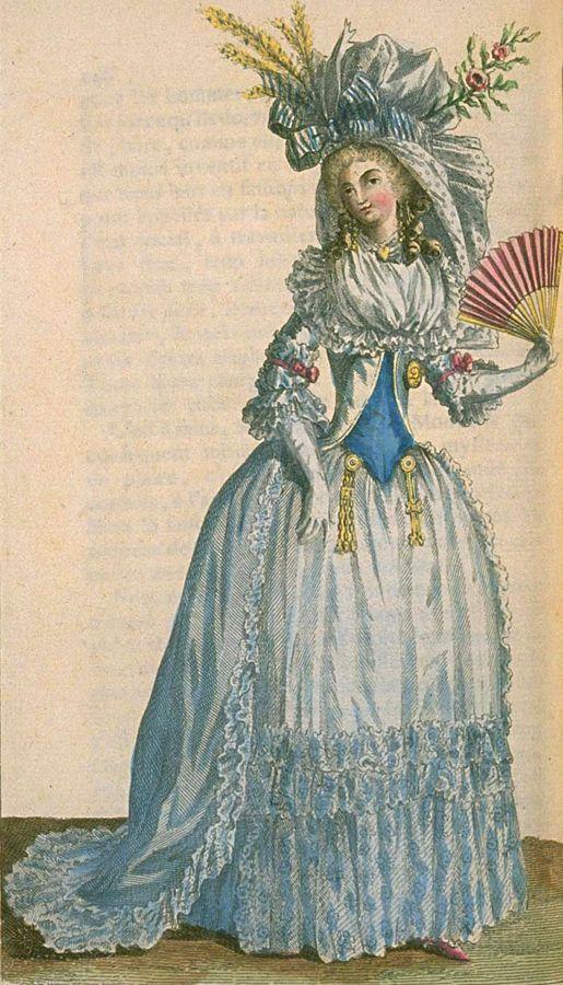 March 1787 - Magasin des Modes Nouvelles, Francaises et Anglaises