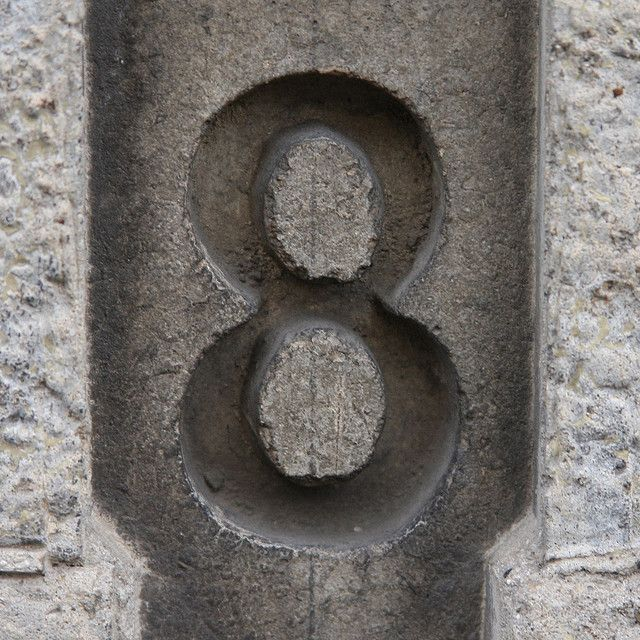 number 8 eight | number/letter photography | Number 8