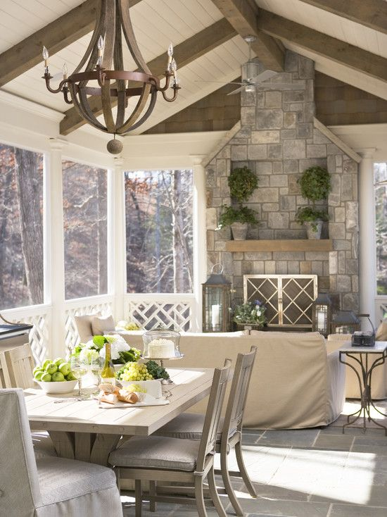 Screened In Porch Design, Pictures, Remodel, Decor and Ideas Porch