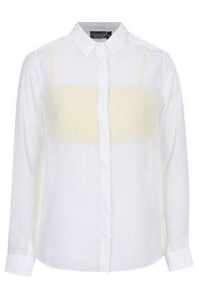 Sheer Shirt with Bralet