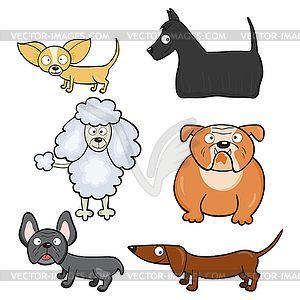 Картинки по запросу мультяшные собаки разных пород ...