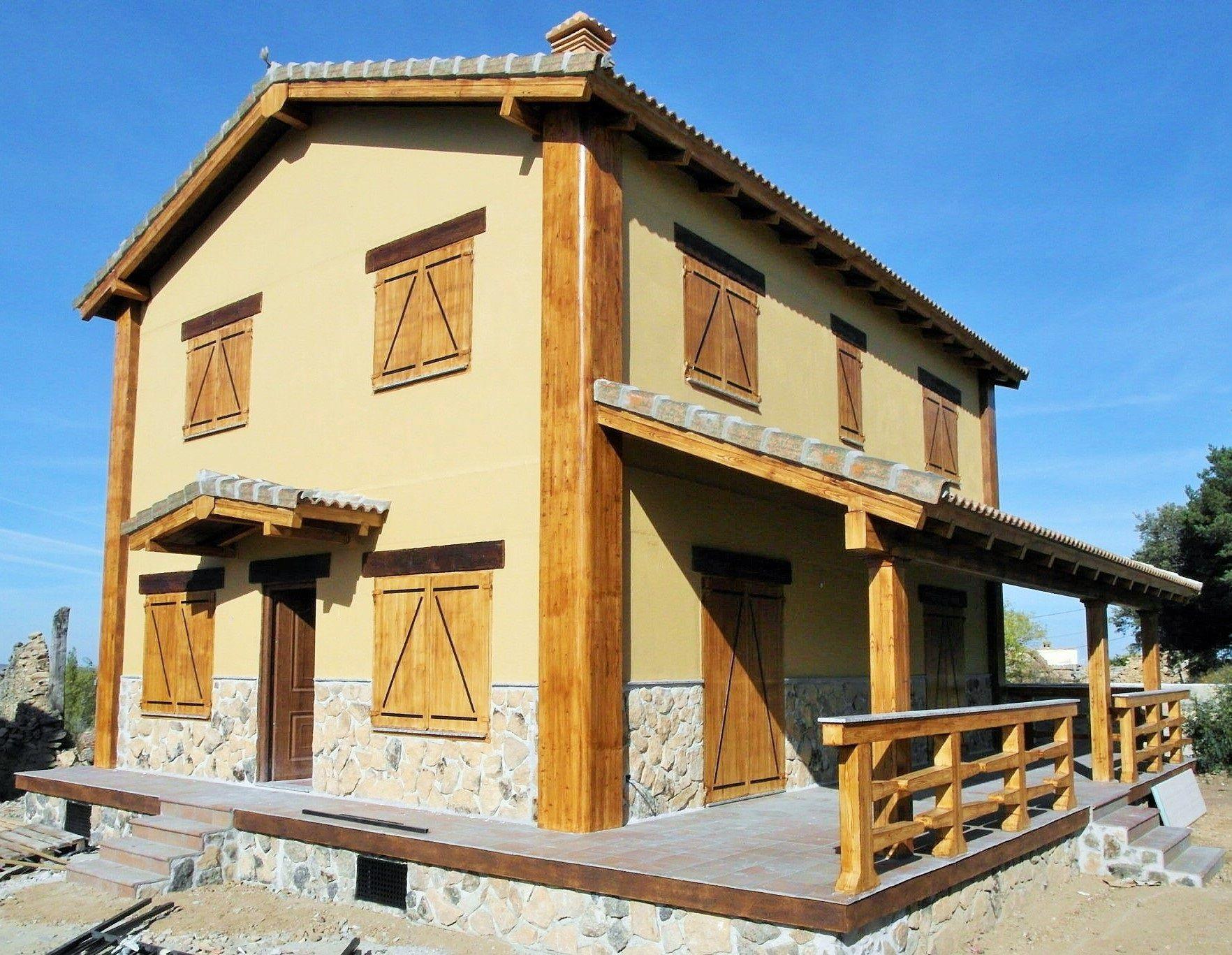 Casa prefabricada de hormigon de 2 plantas vivienda de 150m2 con 4 dormitorios 2 ba os casas - Casas prefabricadas alcorcon ...