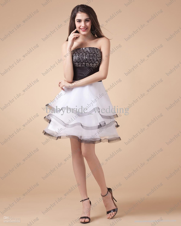 designer simple white mini dresses above knee short mini