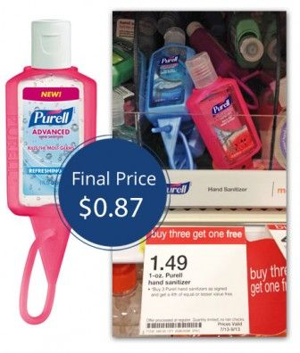 Purell Hand Sanitizer Only 0 87 At Target Coupon Adicted