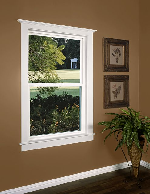 Beautiful Window After Being Installed With Quikcase Window Trim Kit Interior Window Trim Interior Door Trim Window Trim Exterior