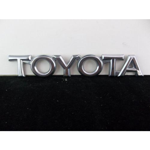 1993 1997 Toyota Camry Corolla Chrome Plastic Trunk Emblem On Ebid United States 164205006 Toyota Camry Camry Corolla