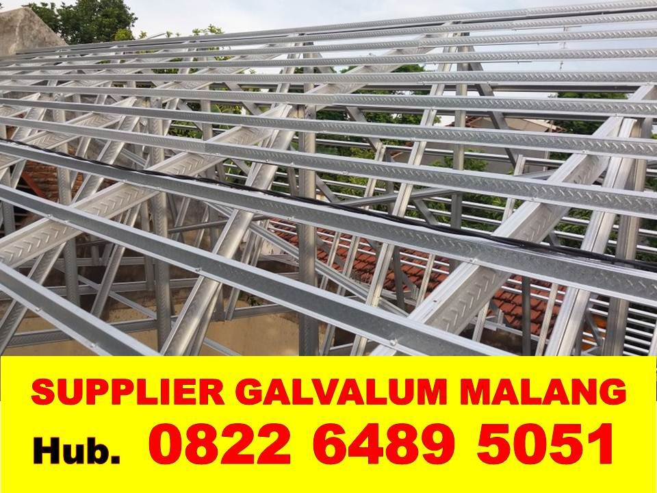 jarak reng baja ringan atap galvalum hitung online harga 0 75 perhitungan