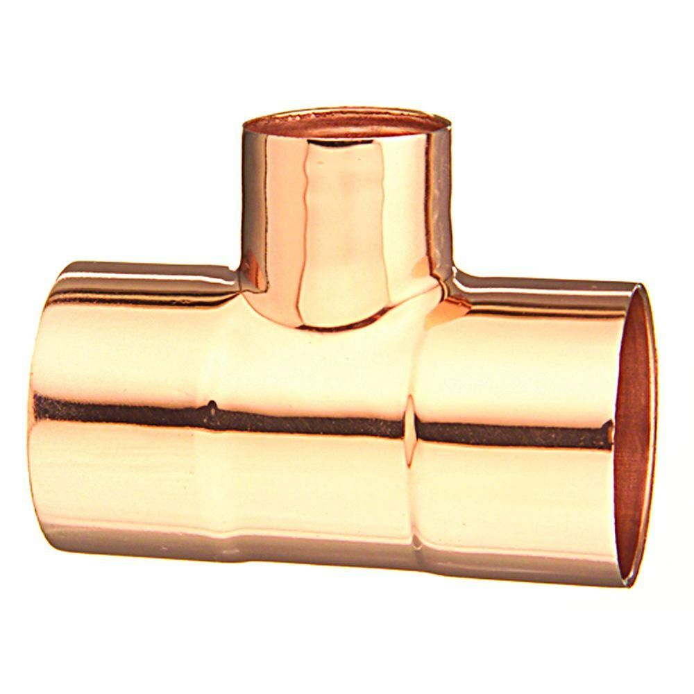 3 4 In X 1 2 In Copper Tee 10632774 At The Home Depot Elkhart Things To Sell Copper Tubing