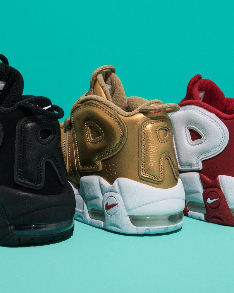 8c110862a07 The Supreme Nike Uptempos Are Bold Branding At Its Finest ...