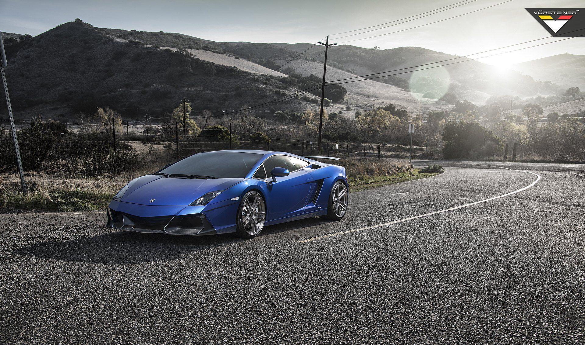 Deep Blue Exterior Lamborghini Gallardo Magnifies The Ride Car