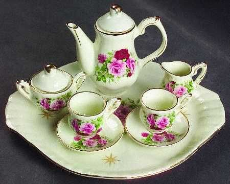 Miniature Tea Sets