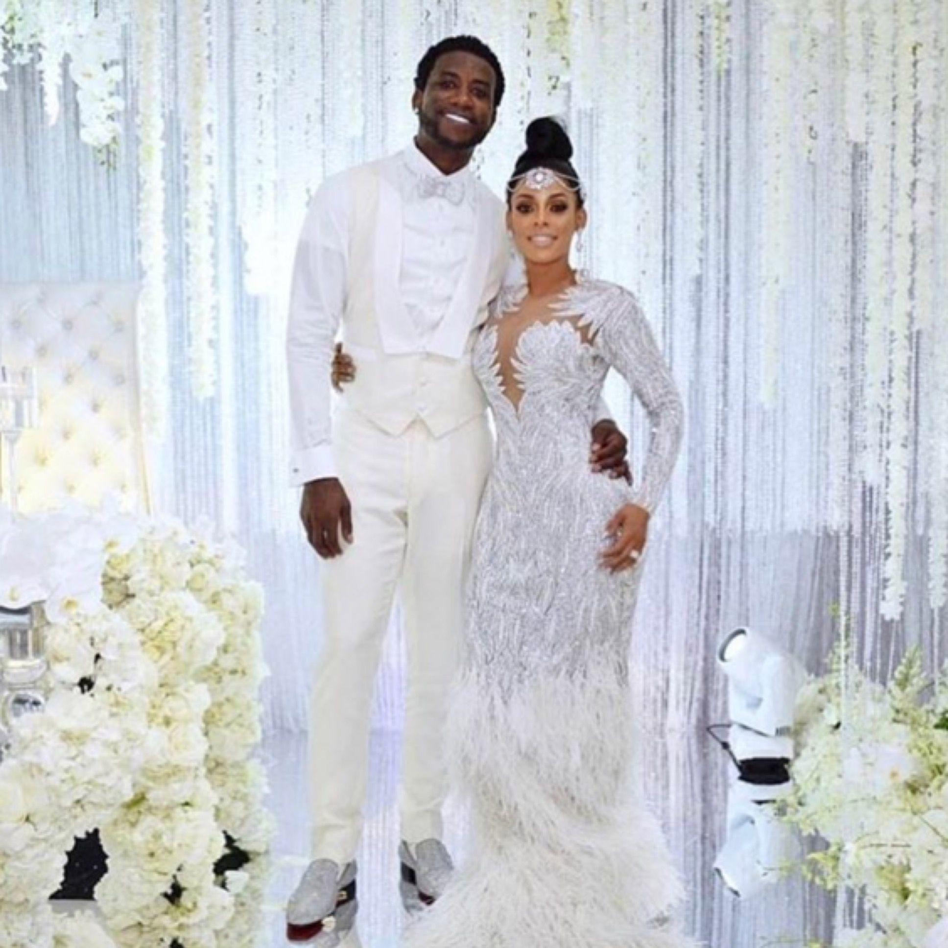Kandi burruss wedding dress  Mr And Mrs Davis  weddings  Pinterest  Couture wedding gowns