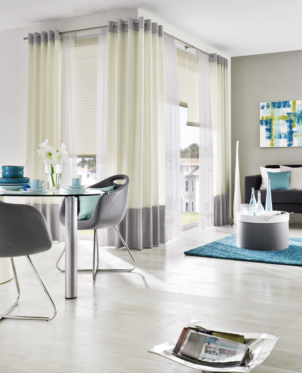 Fenster Kaori Gardinen Dekostoffe Vorhang Wohnstoffe Plissees