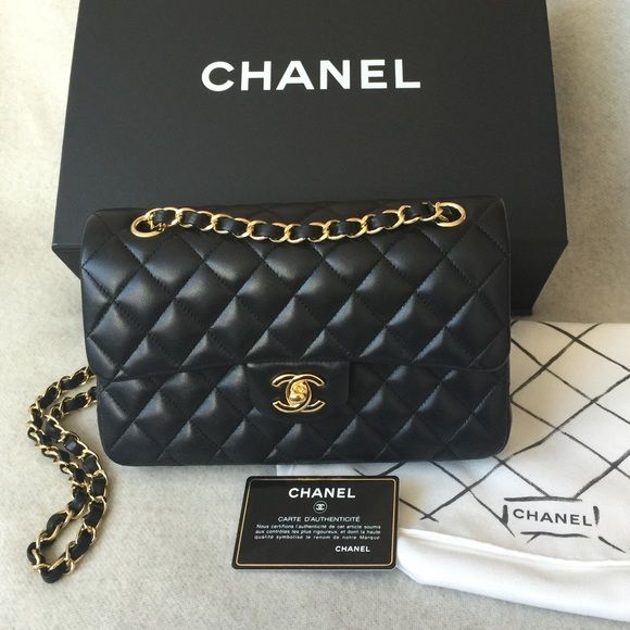 4210c2383c274 Chanel small classic flap bag Brand new with box