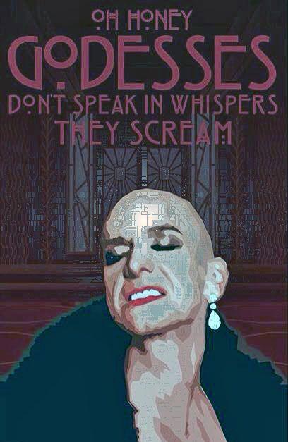 Liz Taylor American Horror Story Wallpaper
