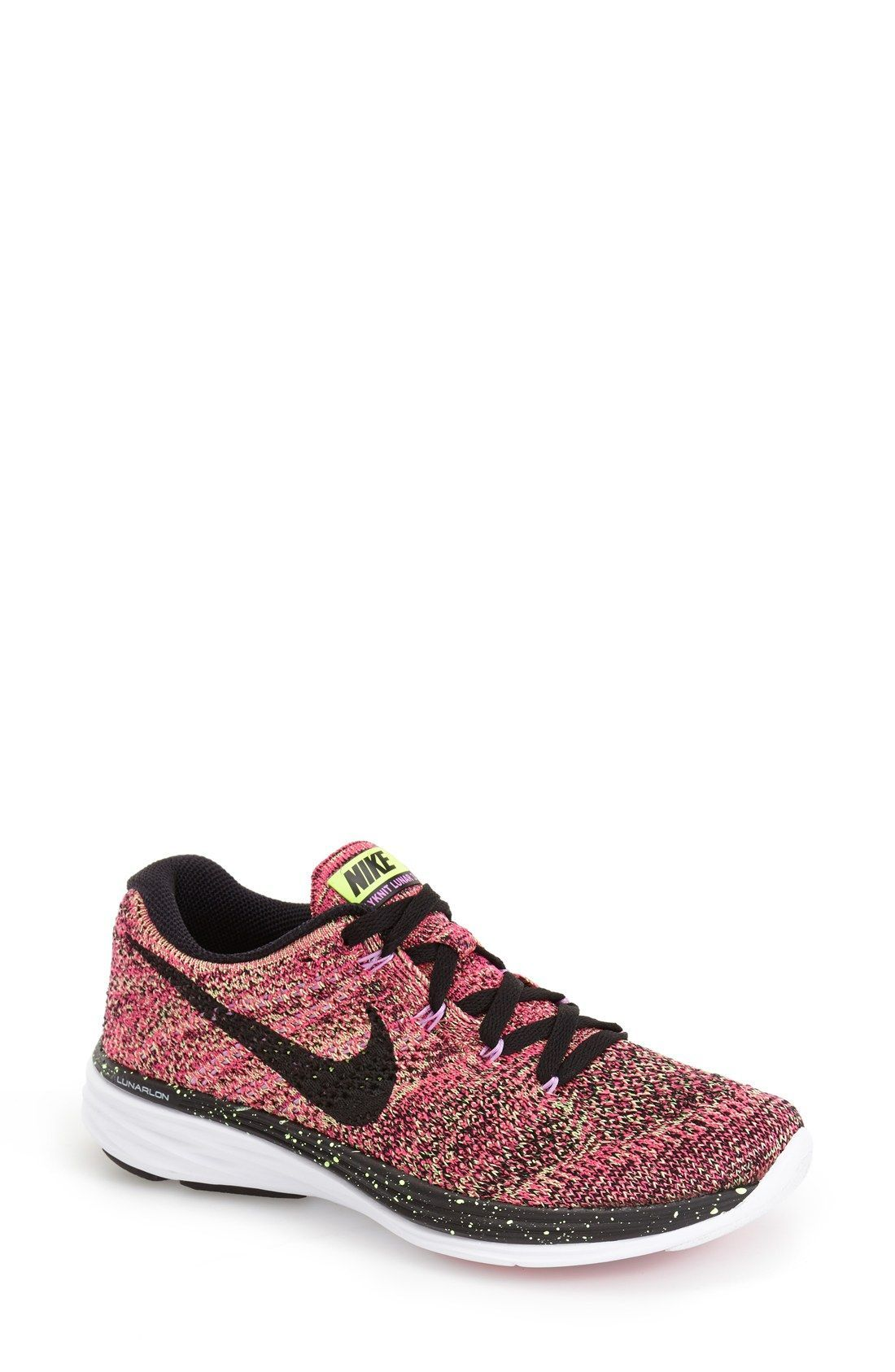 premium selection d51a2 f56bc Nike Flyknit Lunar 3 Running Shoe (Women)