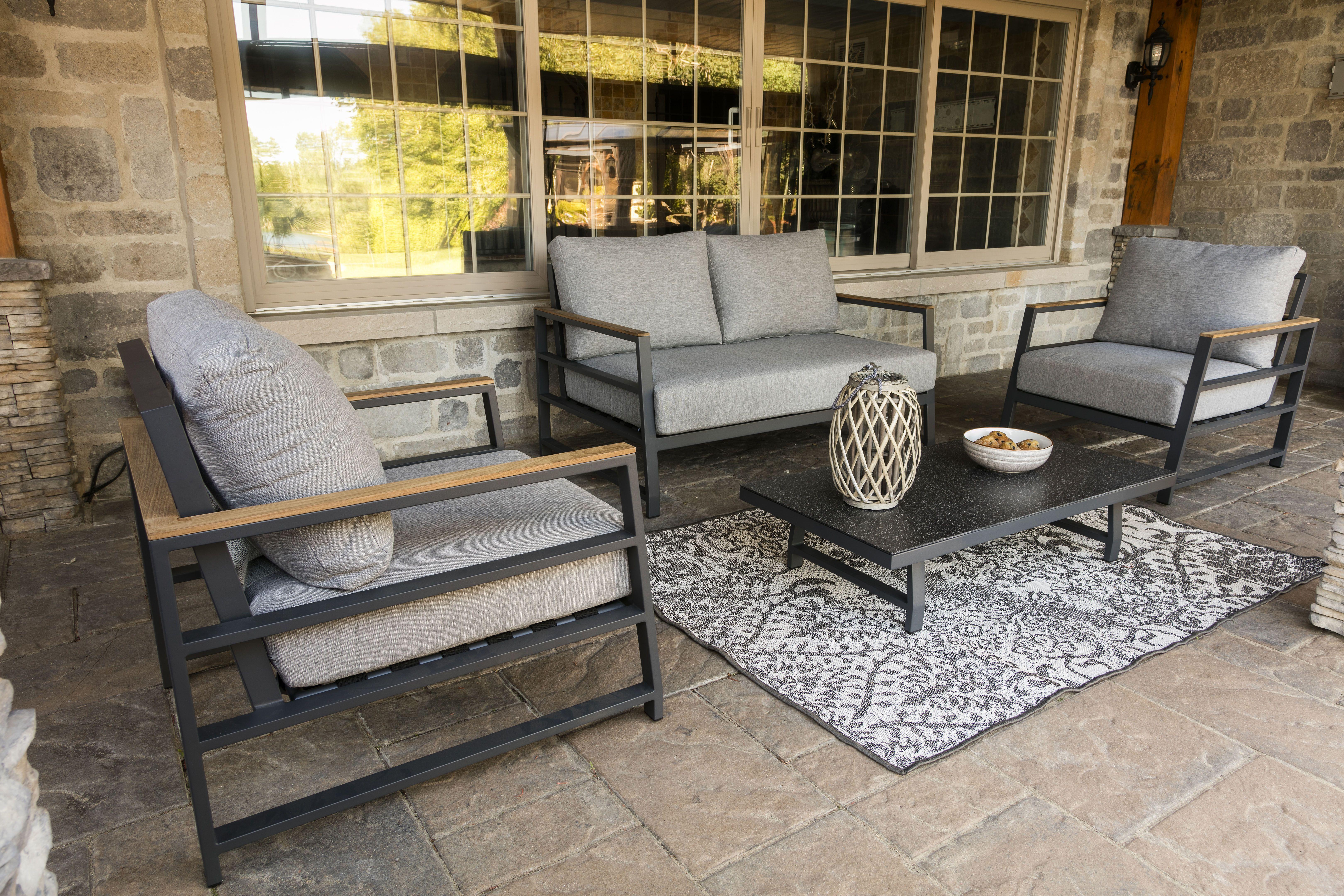 Salon Exterieur London Outdoor Deep Seating Outdoor Furniture Sets Outdoor Furniture Furniture Sets