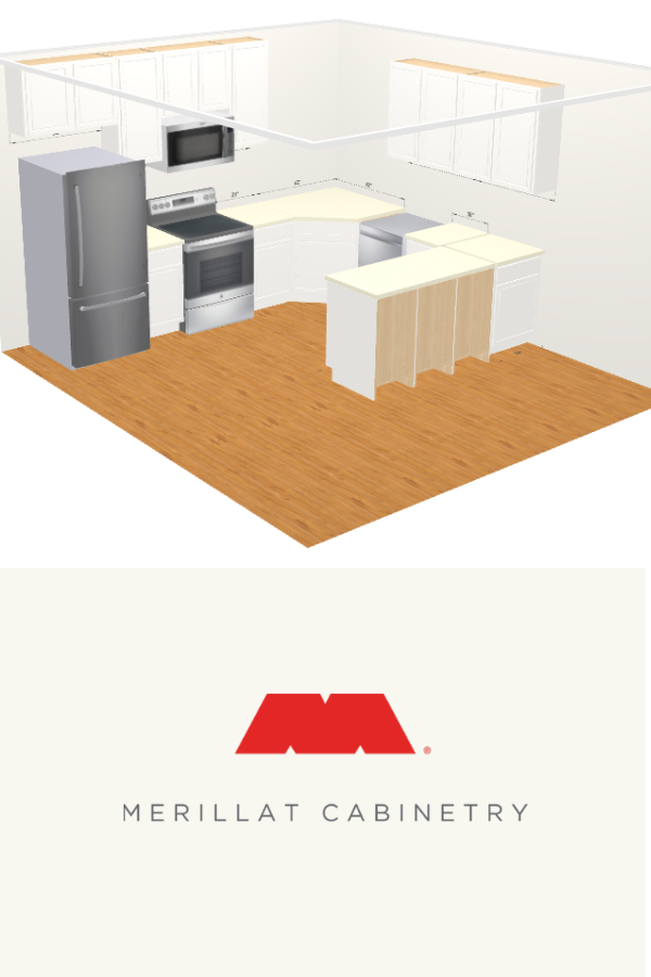 This Merillat Tool Is Designed To Help You Come Up With A Kitchen Floor Plan For Your Account Project Kitchen Tools Design Online Kitchen Design Kitchen Plans