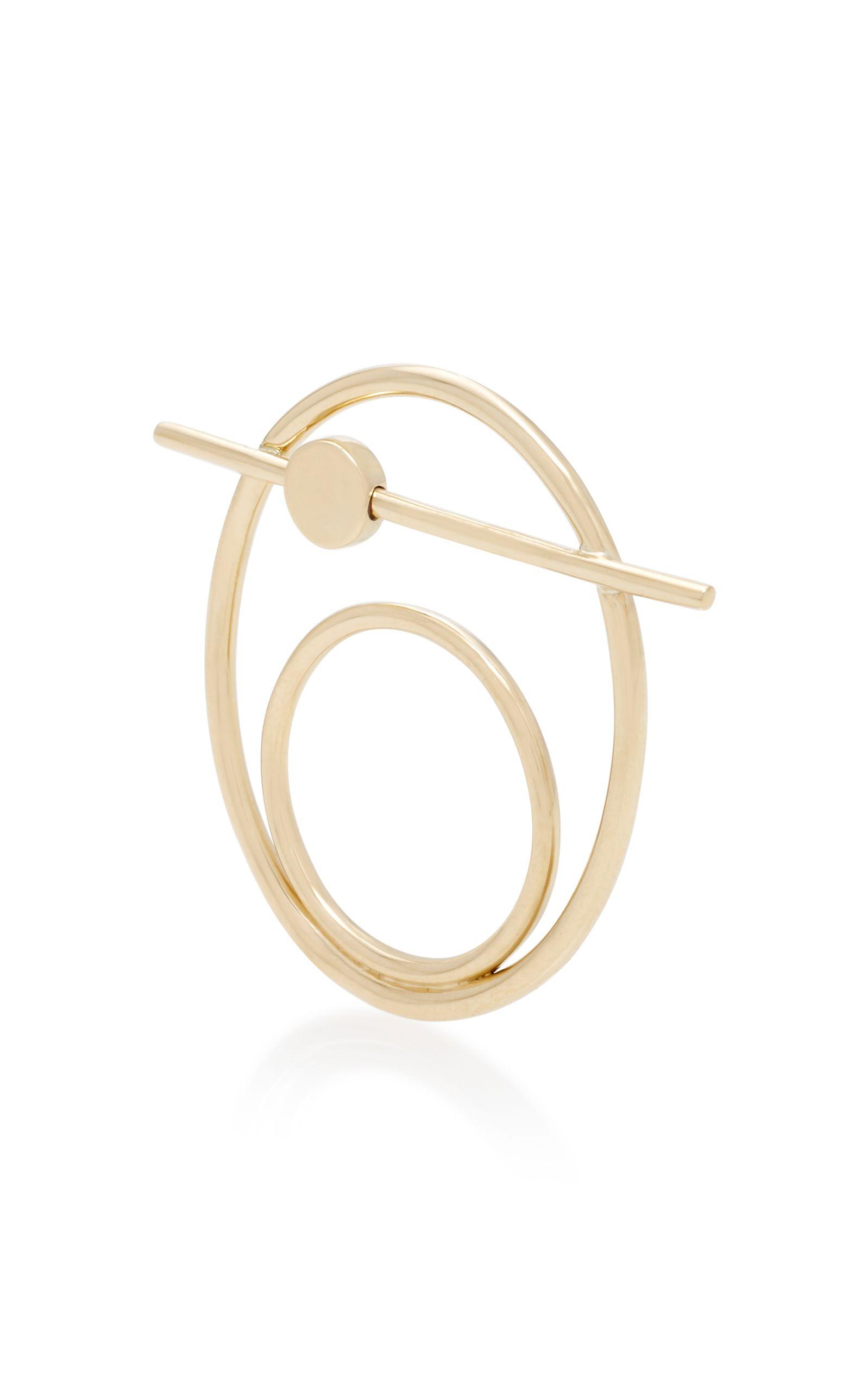 Suno I 10K Gold Ring Pili Restrepo teev86sXe