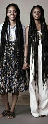 LONG BRAIDS / HAIR / HAIRSTYLES / PROTECTIVE HAIRSTYLE