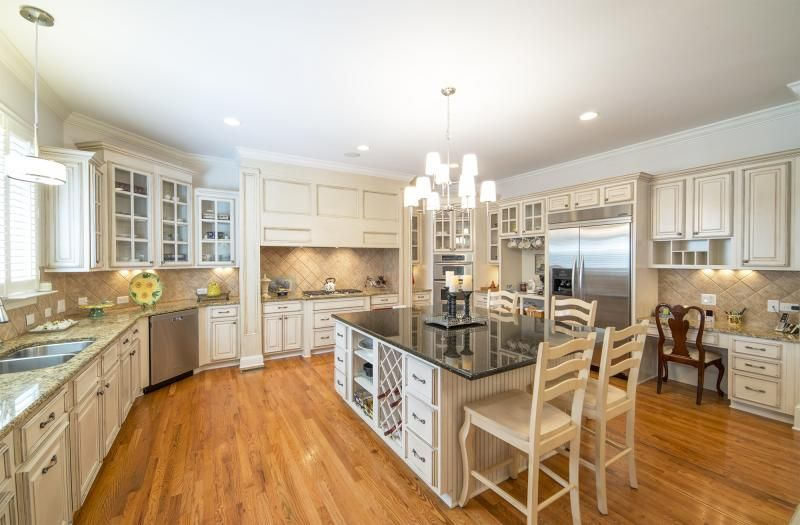 Coastal Ivory Kitchen Cabinets in 2019   Kitchen Ideas