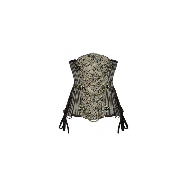 Corsets ❤ liked on Polyvore featuring corset, steampunk, tops and shirts