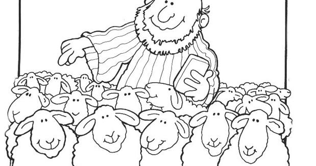 Parábola Ilustrada De La Oveja Perdida рисовалки библия