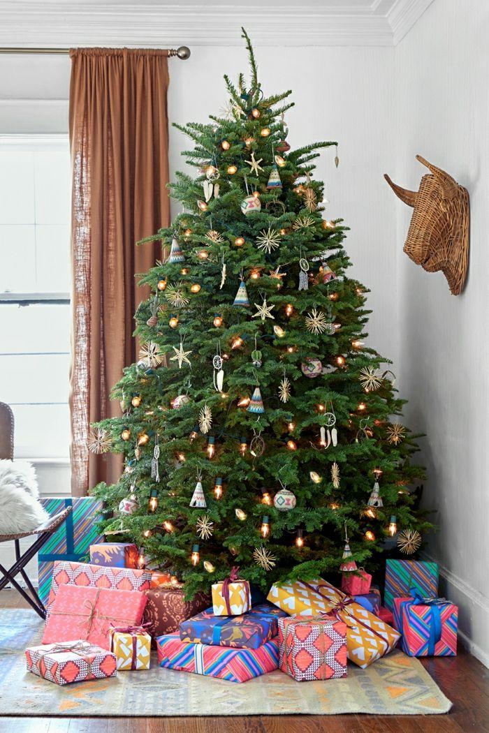 1001 ideas para decorar rbol de Navidad con mucha clase Forma