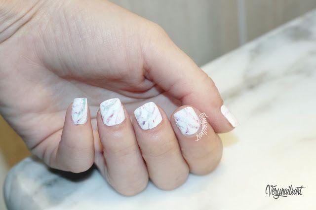 PASO A PASO EN EL BLOG! #nailart #uñasdecoradas #notd #npa #marblenails