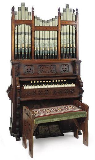 A Victorian Walnut Harmonium Circa 1890 Organ Music Old Pianos Piano