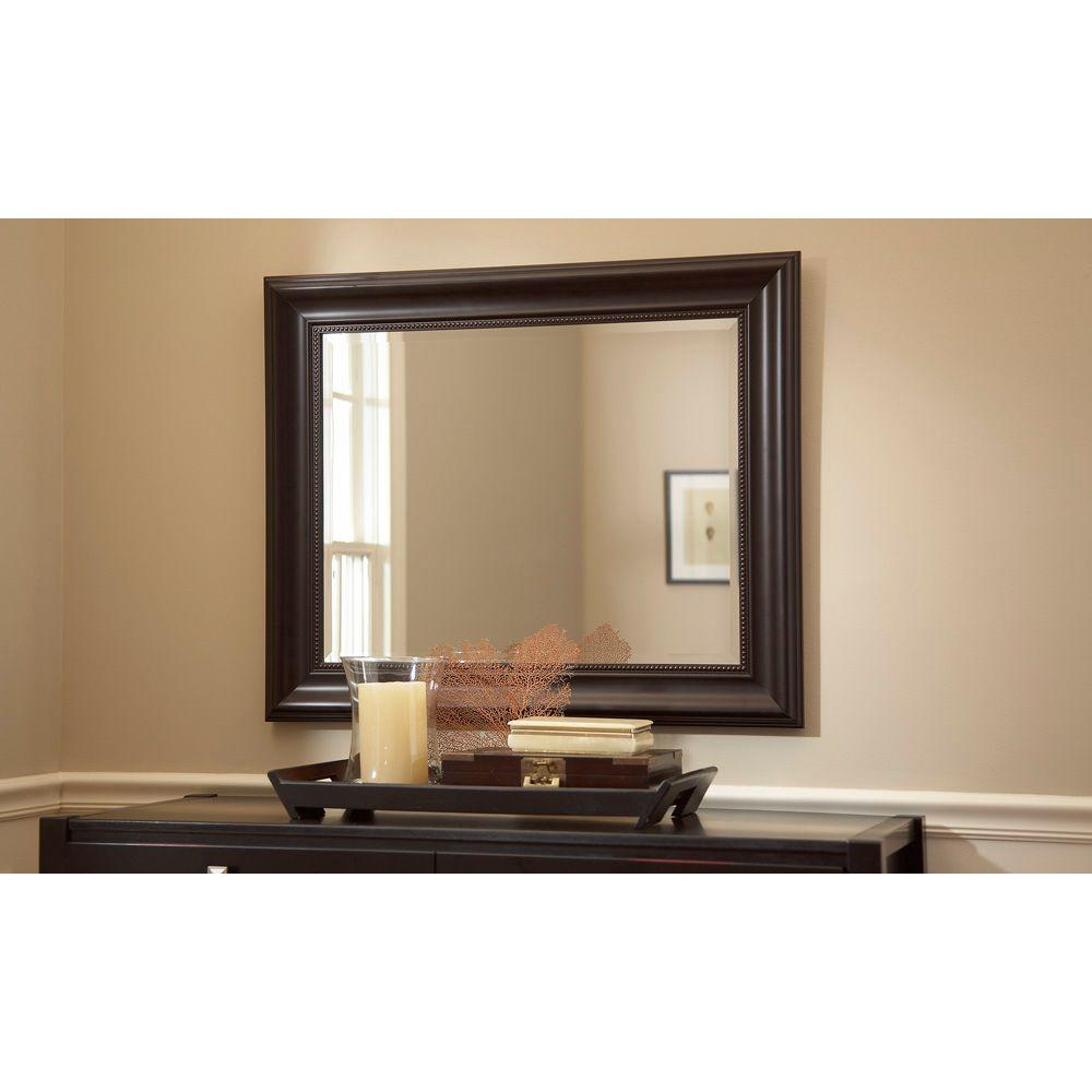 Martha Living Saranac 36 In X 30 Plastic Framed Mirror 71894 At The Home Depot 49 96 Yes But Doesn T Look It