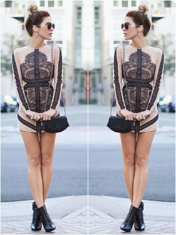 How to Chic: LACE DRESS