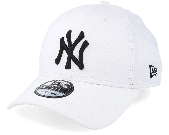 Ny Yankees 940 Basic White Black New Era New Era White And Black Ny Yankees