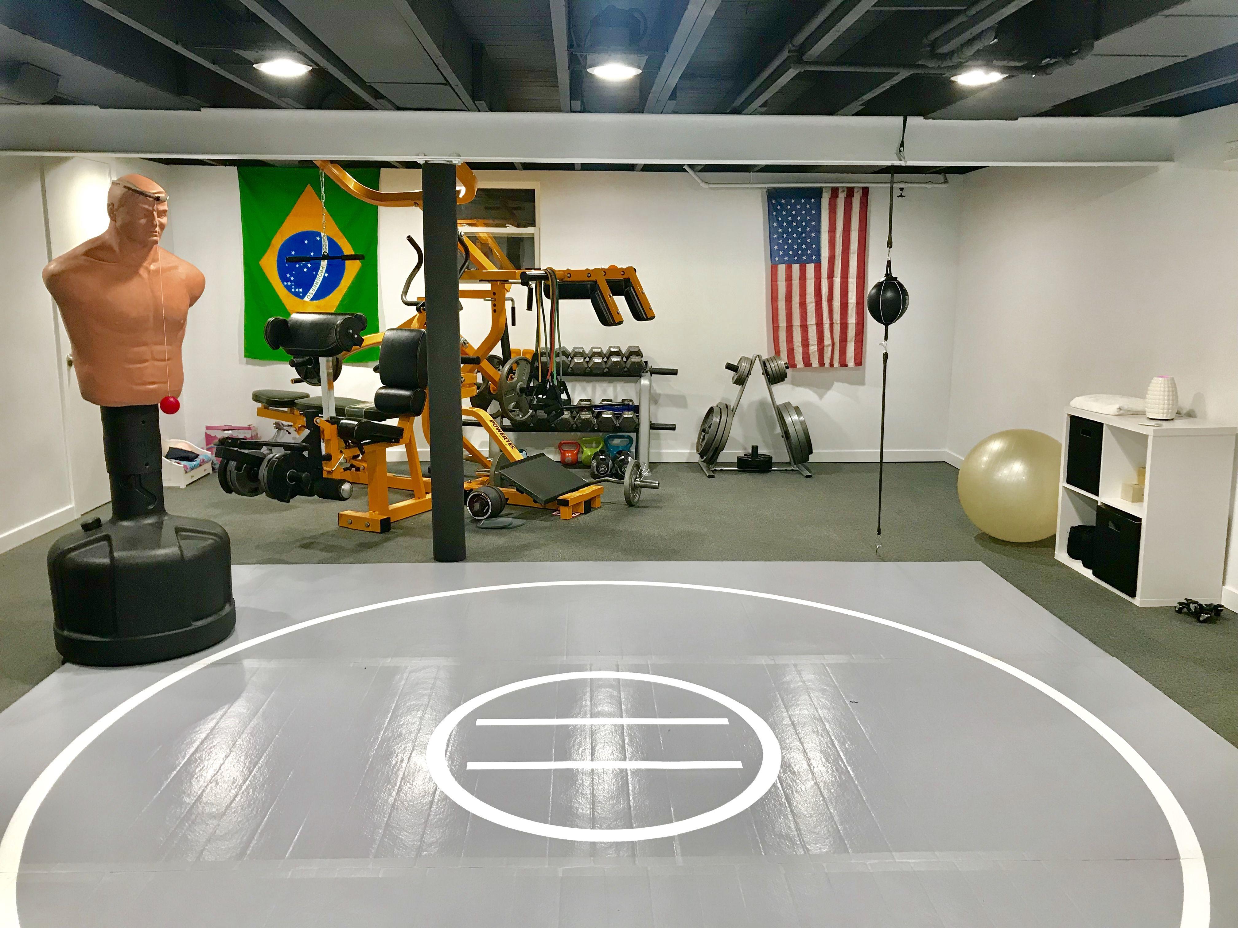 12 X 12 X Ultra Shock Roll Up Wrestling Mat Workout Room Home Workout Rooms Wrestling Mat