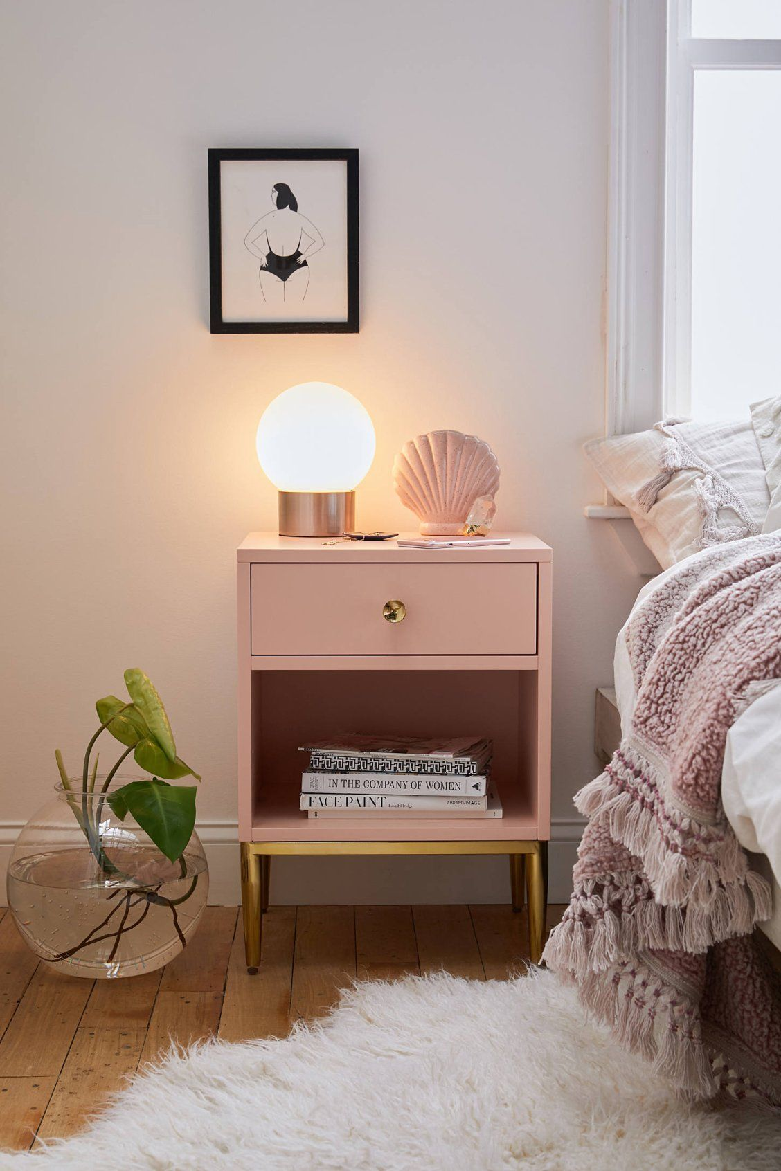 Cleo Nightstand Urban Outfitters Interior Design Bedroom Bedroom Interior Home Decor Bedroom