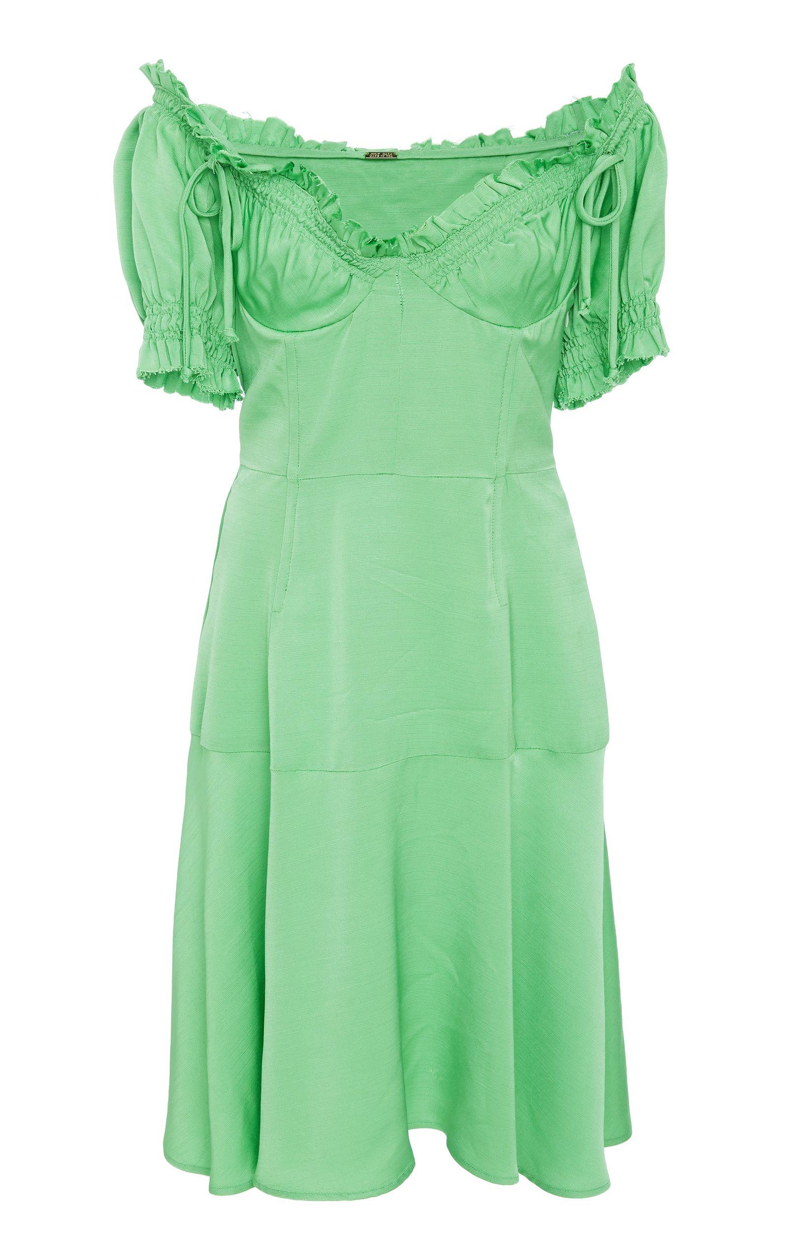 Scarlett Raw Edge Bustier Dress Cult Gaia 2TjJoT