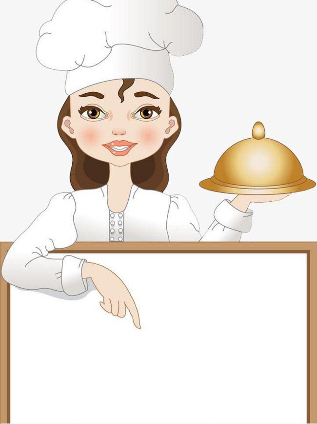 Cartoon Creative Female Chef Cartoon Clipart Chef Clipart Cartoon Png Transparent Clipart Image And Psd File For Free Download Female Chef Cartoon Clip Art Cartoon Chef