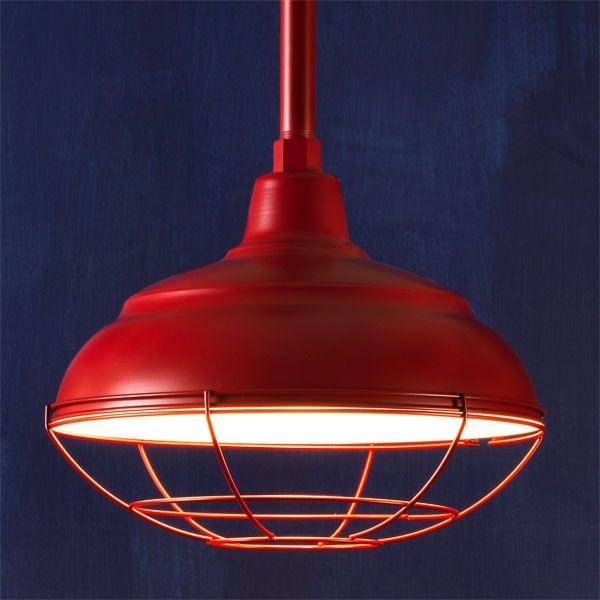 Factory style pendants pendant lighting barn and pendants barn red example of factory style pendant lights mozeypictures Choice Image