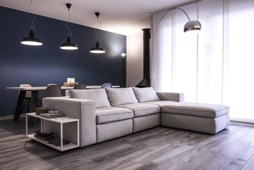 Soggiorno soggiorno in stile di studiooxi nel 2019 casa for Soggiorno stile moderno