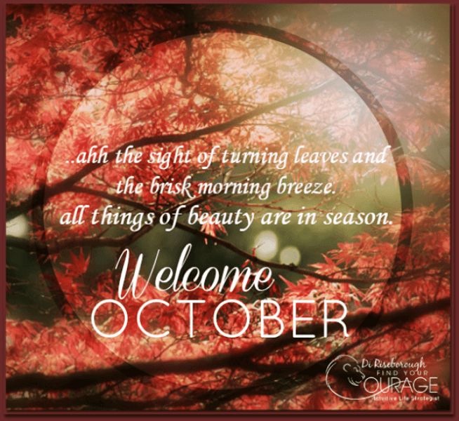 Bon Welcome October Quotes Hello New Month