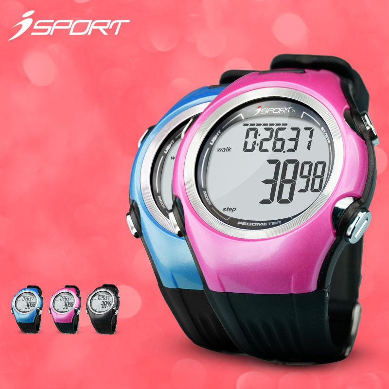 (Buy here: http://appdeal.ru/2aw8 ) High quality 3D pedometer watch calorie counter step run sport fitness stepper bracelet running digital backlight passometer for just US $52.98