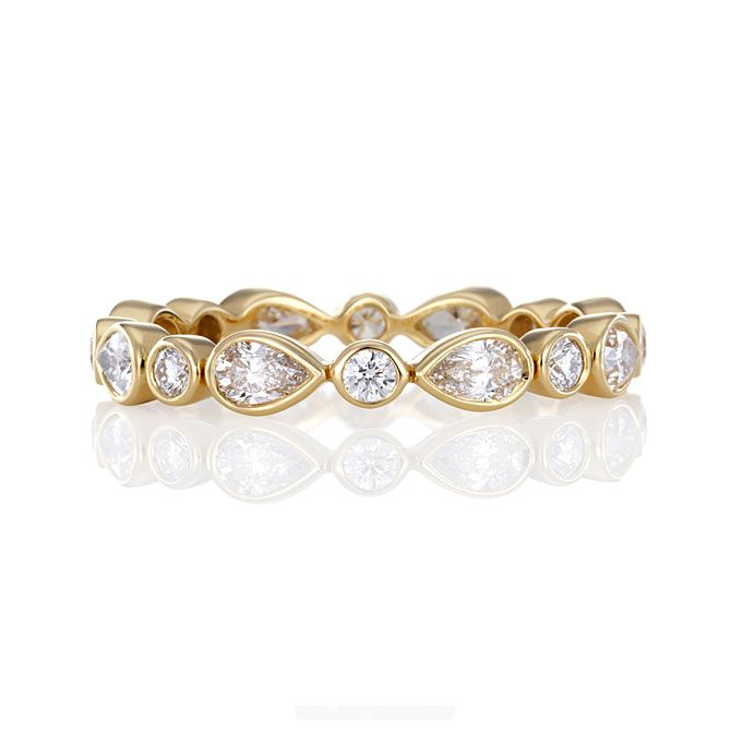 yellow gold wedding rings for women - Yellow Gold Wedding Rings