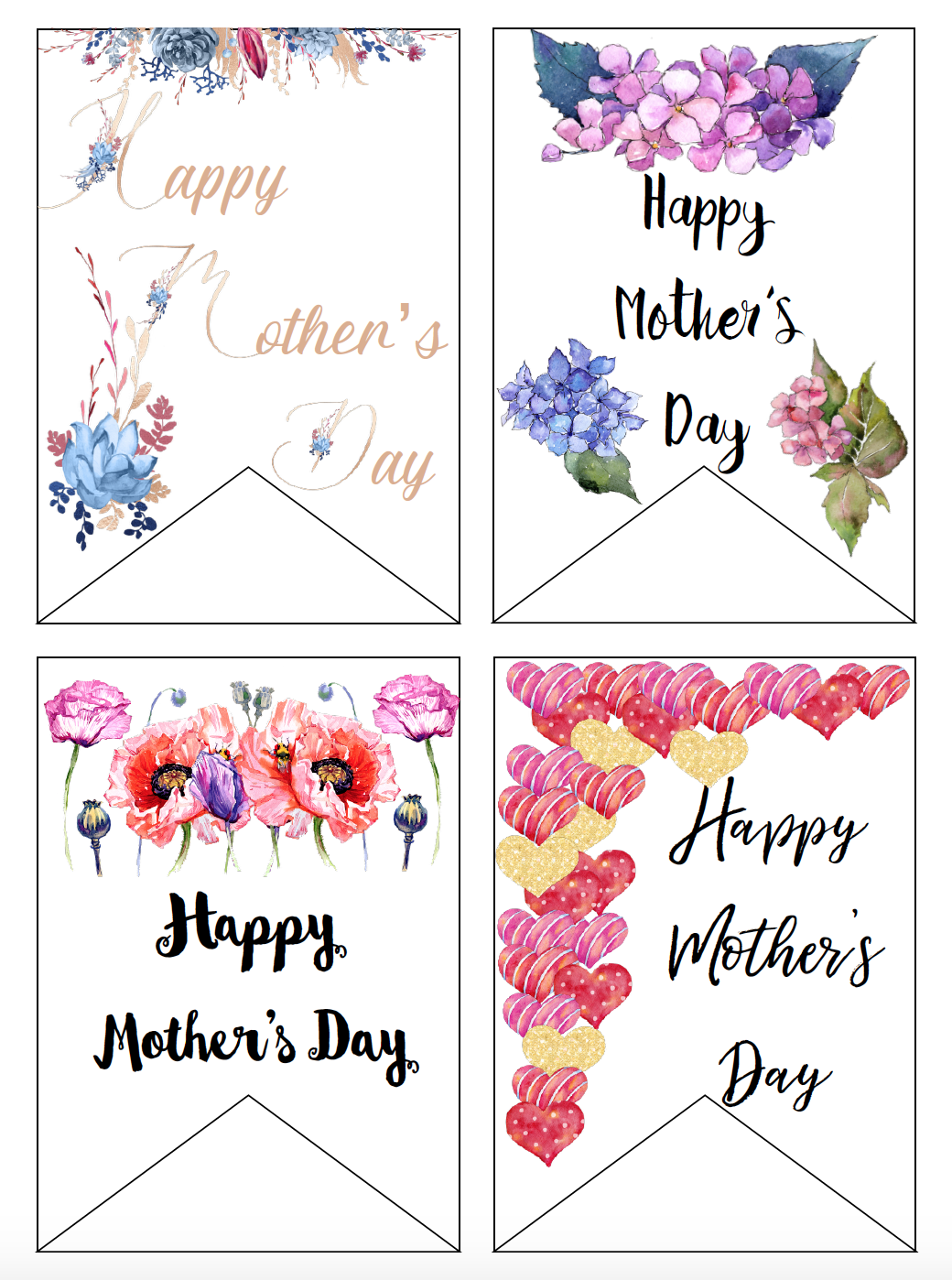 Free Printable Mother S Day Cards And Gift Tags Mothers Day Card Template Mother S Day Printables Free Printable Gift Tags