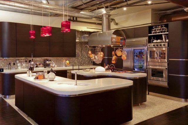 Cocina Con Dos Islas Modern Kitchen Layout Kitchen Inspiration Modern Kitchen Design Pictures